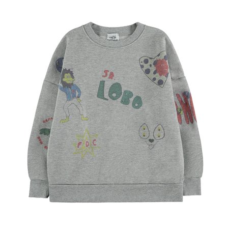 KIDS Fresh Dinosaurs Mix Sweatshirt