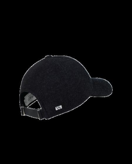 UNISEX Varsity Headwear Cashmere Cap - Jade Black