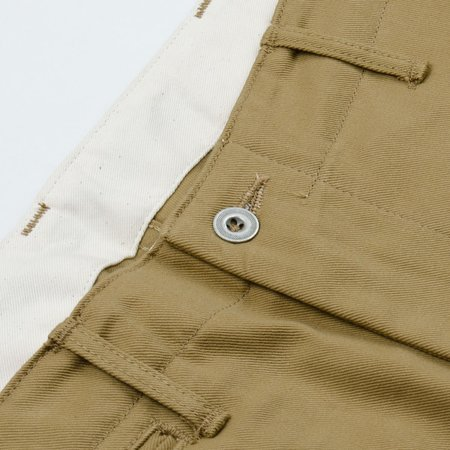 Orslow Slim Fit Army Trousers Chinos - Khaki Beige