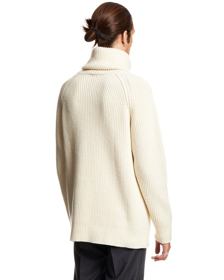 GCDS High Neck Sweater - cream