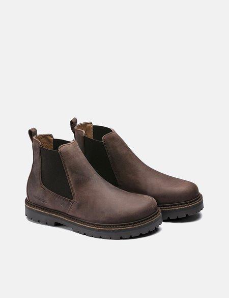 Birkenstock Stalon Regular and Nubuck Leather Boot - Mocha