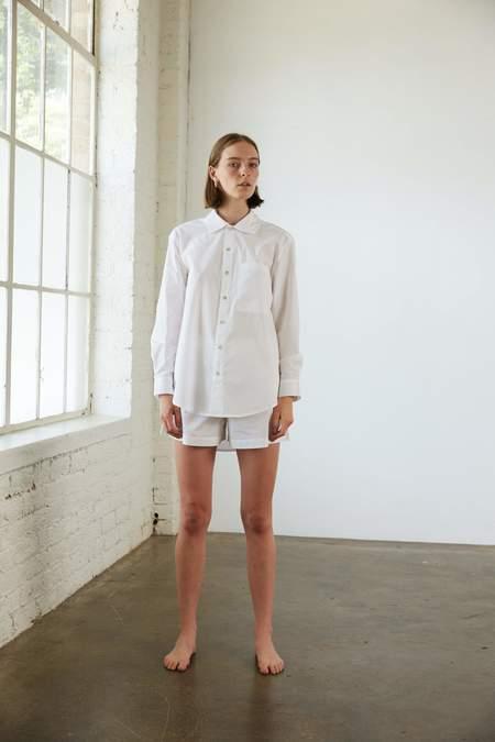 General Sleep Everyone Organic Cotton Shirt - Cloud