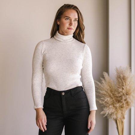Rachel Pally Rib Sweater Shea Turtleneck - Heather