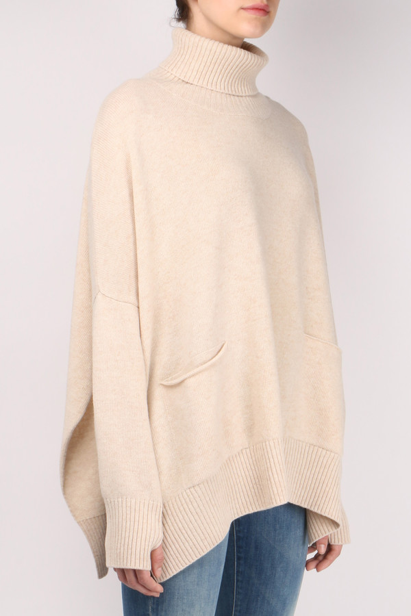 Ma'ry'ya Dolman Pocket Sweater