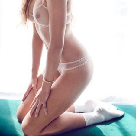 Taryn Winters Colette Thong - Pink Beige