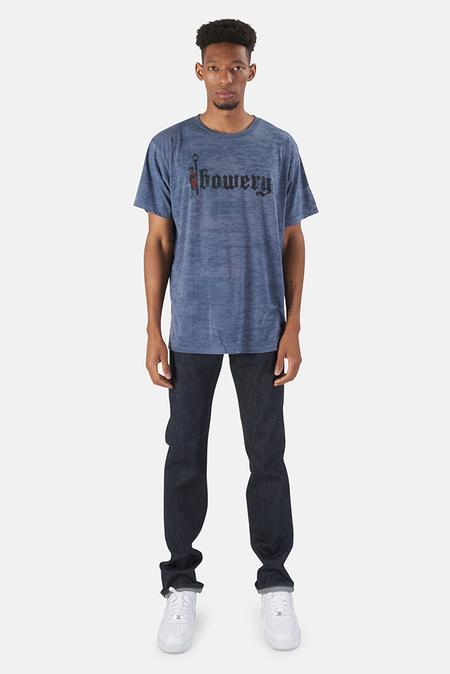 Blue&Cream Bowery Red Man Graphic T-Shirt - Navy