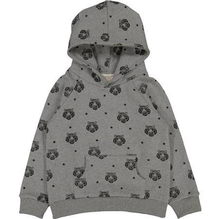 Kids Louis Louise Tiger Sweatshirt - Marled Grey