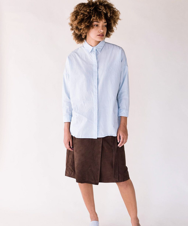 Esby Blue Stella Button Down