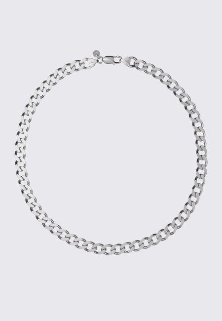 Meadowlark Medium Lucien Chain Necklace - silver