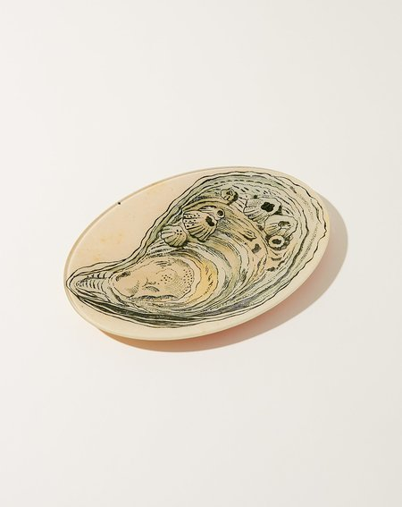 John Derian Oyster 7 Large Oval Plate