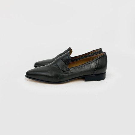 Pomme D'Or Suede Loafer - Gray