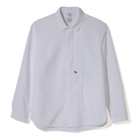Alk Phenix Crank Shirt / Tech Seersucker - White