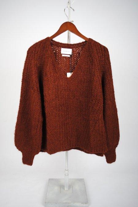 ELEVEN SIX Tess Sweater - Cocoa