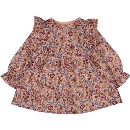 Kids Louis Louise Yseult Floral Print Baby Dress - Pink