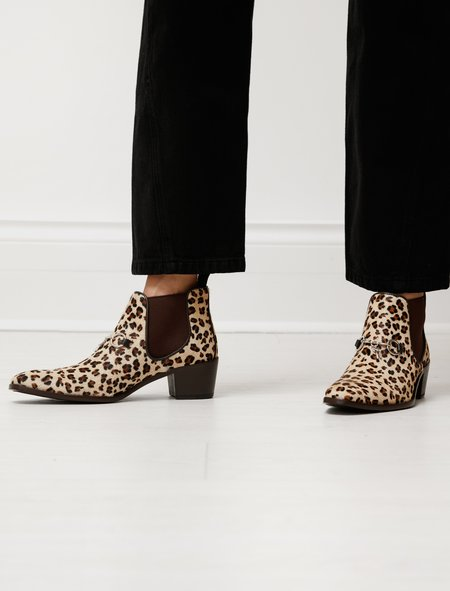 Needles Pony Hair Chelsea Boot - Leopard