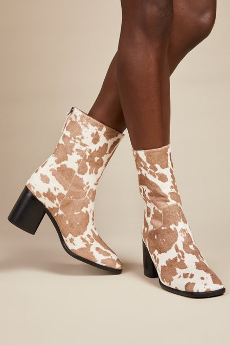 """""""INTENTIONALLY __________."""" PG Boots - Moo Taupe"""