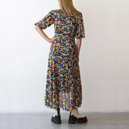 Ganni Wrap Dress - Floral