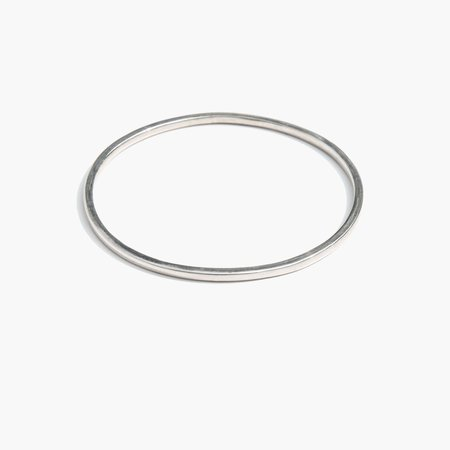 Kindred Black Guiscard Bangle - Sterling Silver