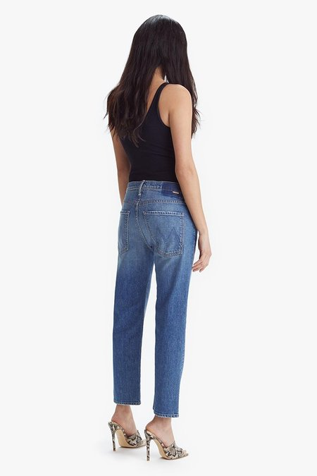 Mother Denim The Scrapper Ankle Jeans - Cowboys Don't Cry