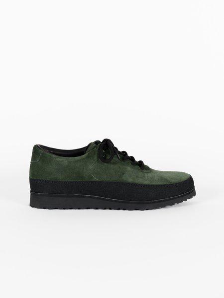 Tarvas Suede Explorer Outdoor Shoe - Dark Green