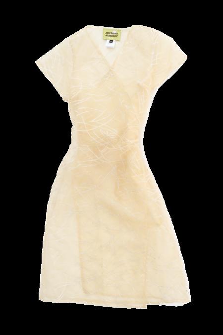 Michons Marigot MAGIC WRAP DRESS - Yellow