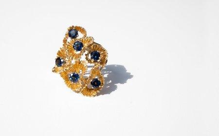 Vintage Kindred Black Veronese Ring