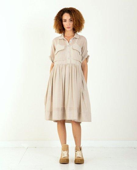 W'Menswear Mosquito Dress - Natural