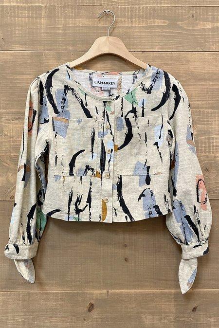 L.F.Markey Felton Shirt - Maple
