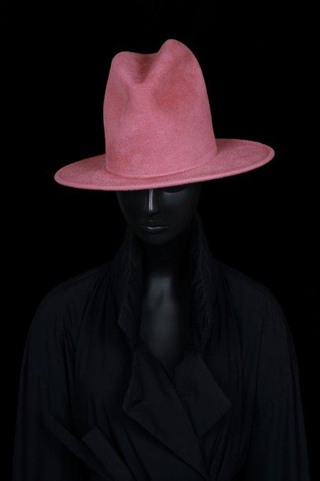 Esenshel Yoko Oval Brim Hat - Rose