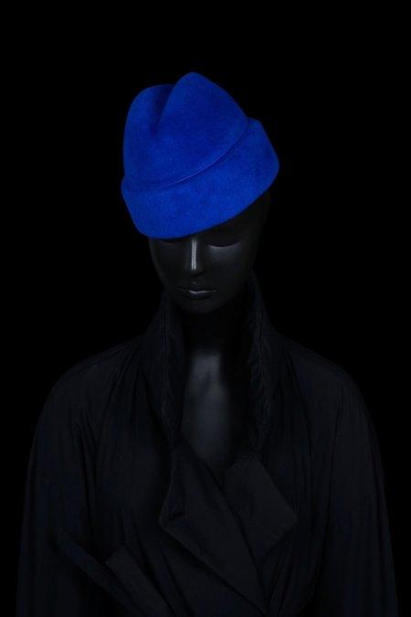 Esenshel RUSSIAN CUFF HAT - ROYAL