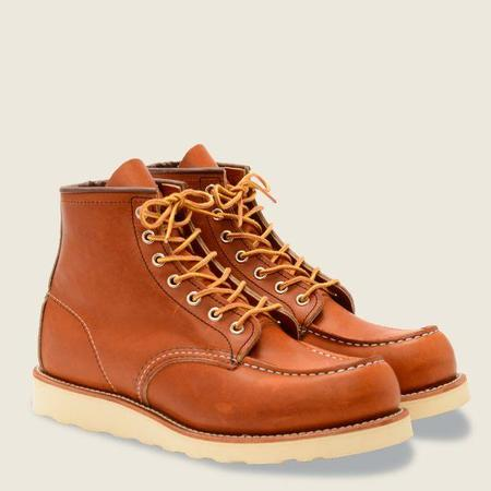 Red Wing Shoes #875 Classic Moc Men's 6-Inch Boot - Oro Legacy Leather