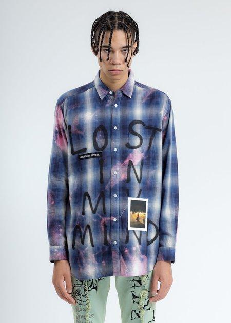 Guernika Check Shirt - Blue Paint
