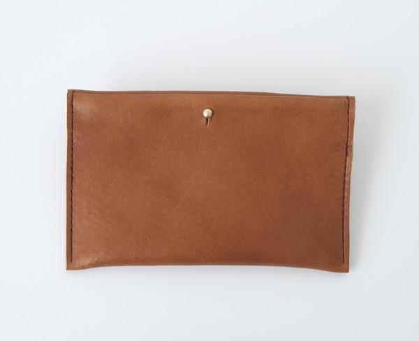 CHC Essex English Tan Slim Wallet