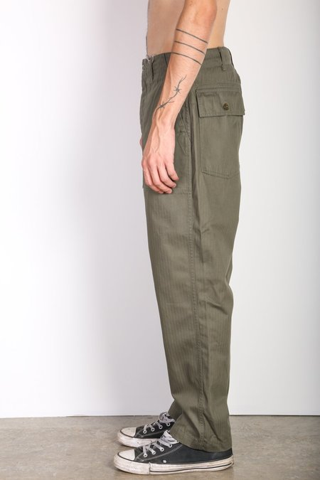 Engineered Garments Fatigue Pant - Olive Green