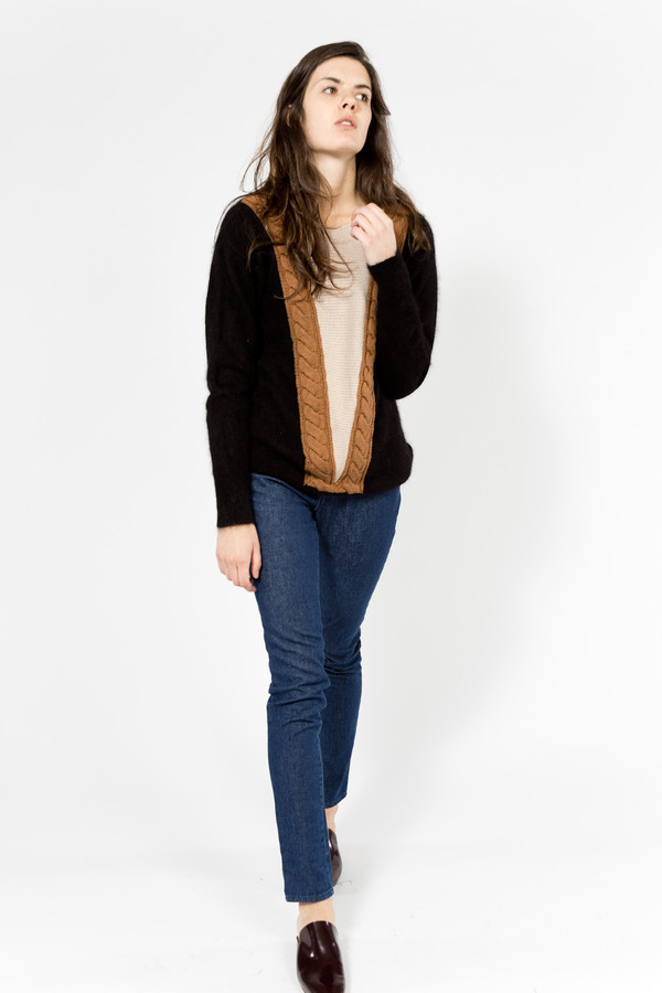 Le Mont St. Michel Torsades Sweater