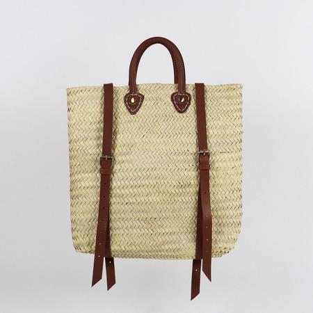 Socco Handwoven Panama Straw Backpack
