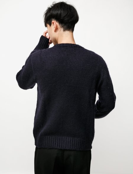 BOur Legacy ase Roundneck Acrylic sweater - Ink