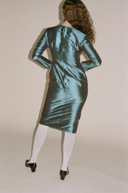 Maryam Nassir Zadeh Charlie Dress - Abalone