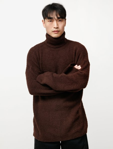 Our Legacy Large Turtleneck Teddy - Brown Merino