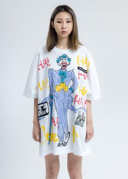 Guernika Joker T-Shirt - White Paint