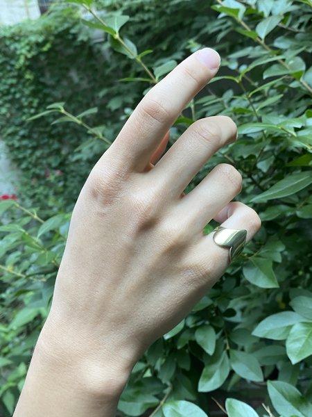 Asia Ingalls Heart Ring - Brass