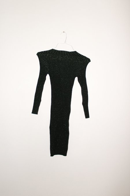 giu giu Nonna Jewel Dress - Moldavite