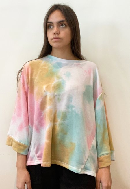 Together Pullover - Pink Mustard