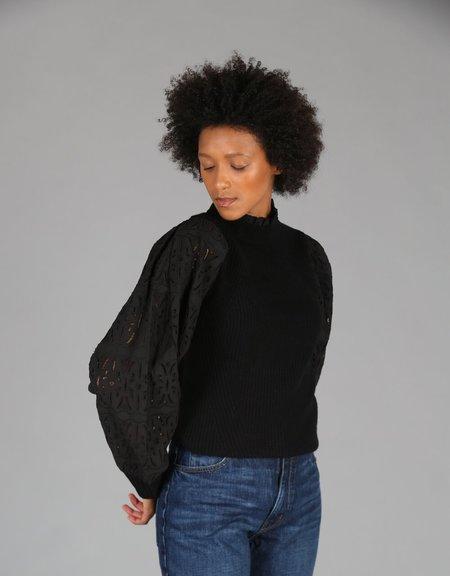 Sea Iris Sweater