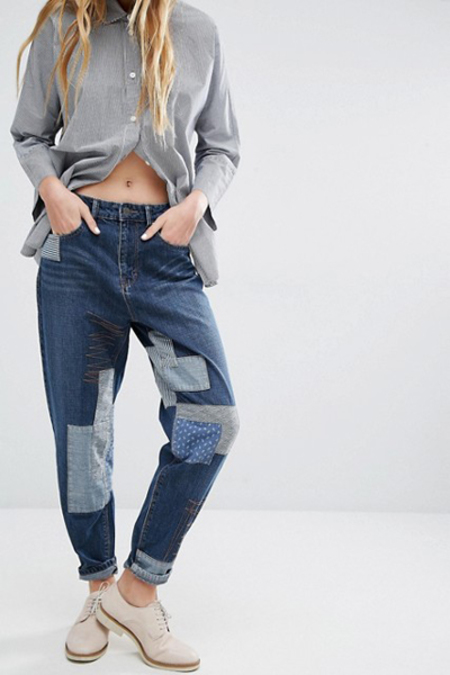 WAVEN Aki Boyfriends Jeans- State Blue