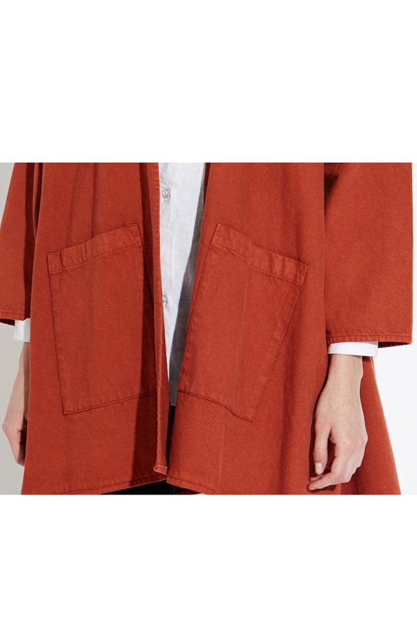 WAVEN Eva Kimono Jacket - Burnt Orange