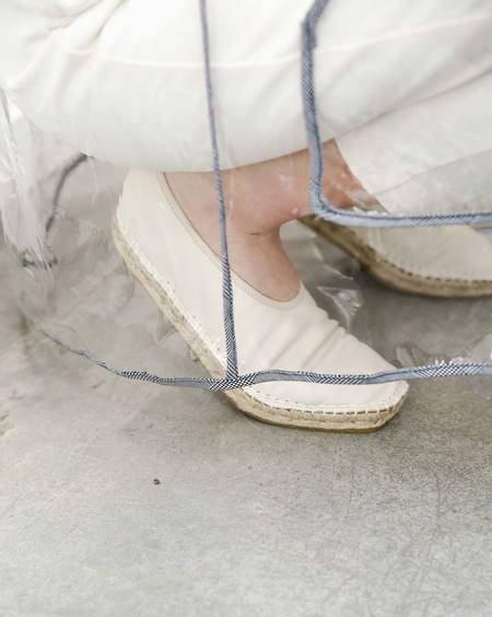 ACT SERIES Edvard leather Espadrilles - OFF-WHITE