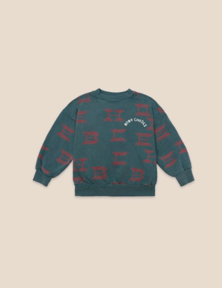 Kids Bobo Choses All Over Sweatshirt
