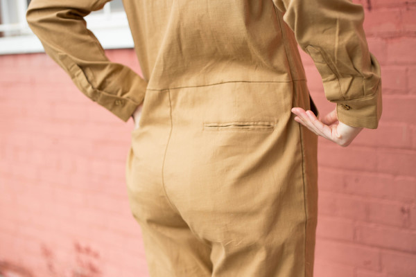 Maggie Jayne Flight Suit (Tan)