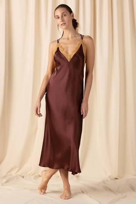 NK iMODE Natasha Open Back Long Gown